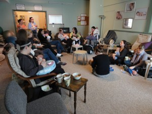 Breastfeeding support groups