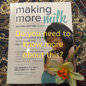 making more milk book group